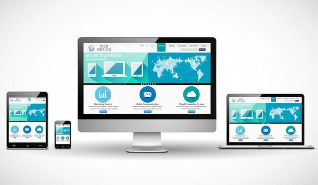 企業ホームページのイメージ