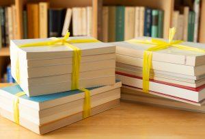 書籍の保管場所に悩むことがなくなる
